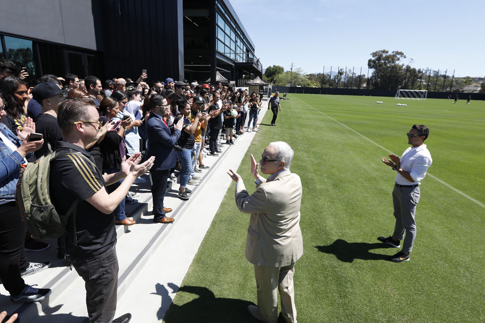 Crowds welcome LAFC to Cal State LA