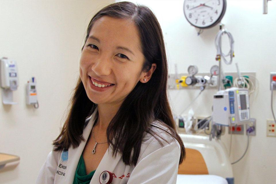 Alumna, Dr. Leana Wen
