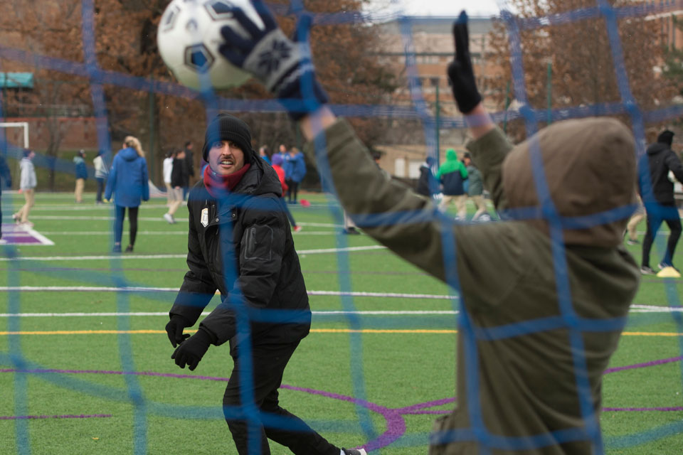 Golden Eagles give back on eve of NCAA Final Four soccer match in Pittsburgh