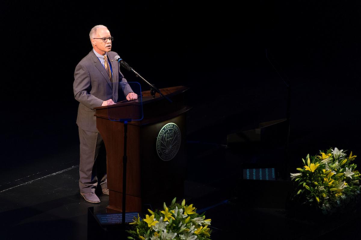 President Covino at Spring 2019 Convocation