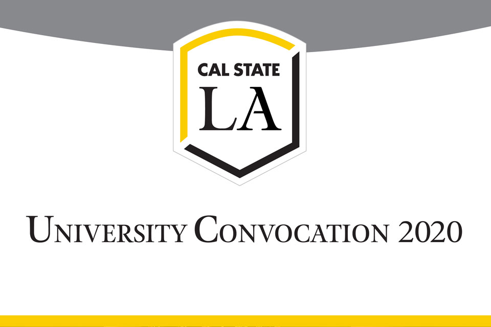 University Fall Convocation 2020