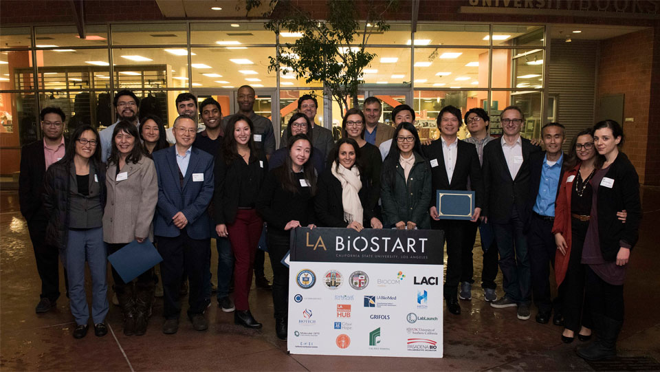 Members of the fourth class of Cal State LA BioStart fellows