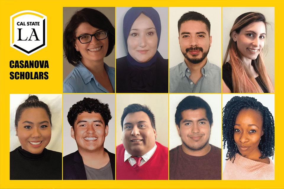 Photos of the 2020-2021 Casanova Scholars