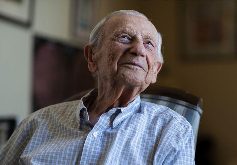 Sigmund Burke, Auschwitz survivor and  Cal State LA alumnus