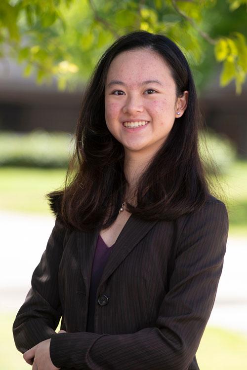 Cal State LA graduate, Charmaine Chui
