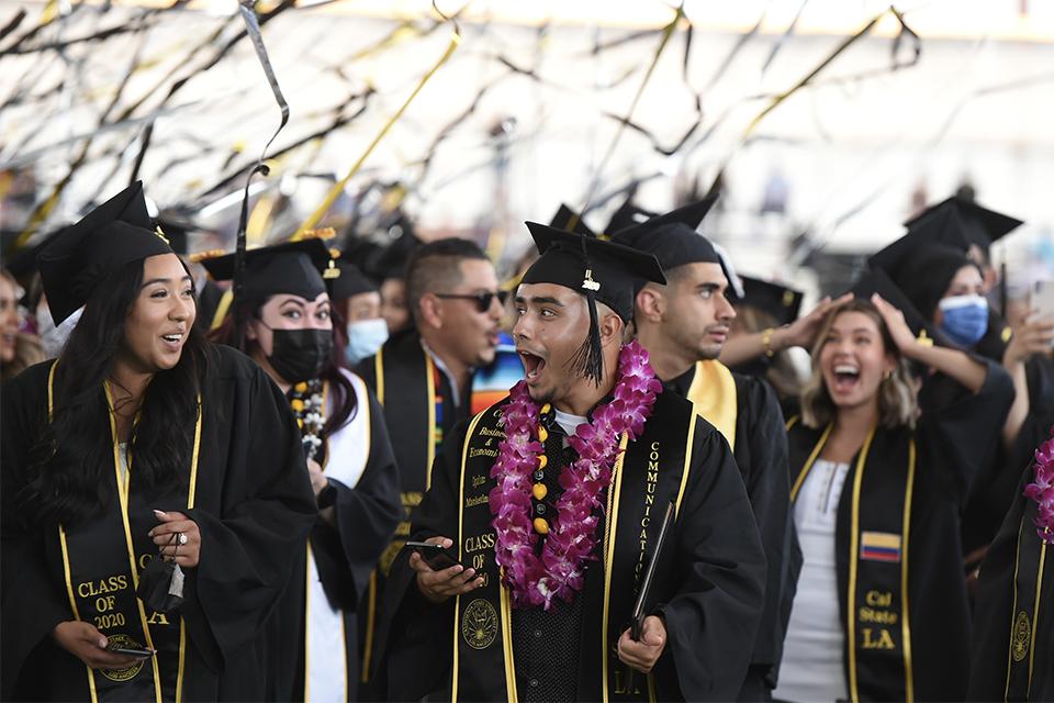 Cal State LA graduates celebrate milestone during start of seven-day Commencement