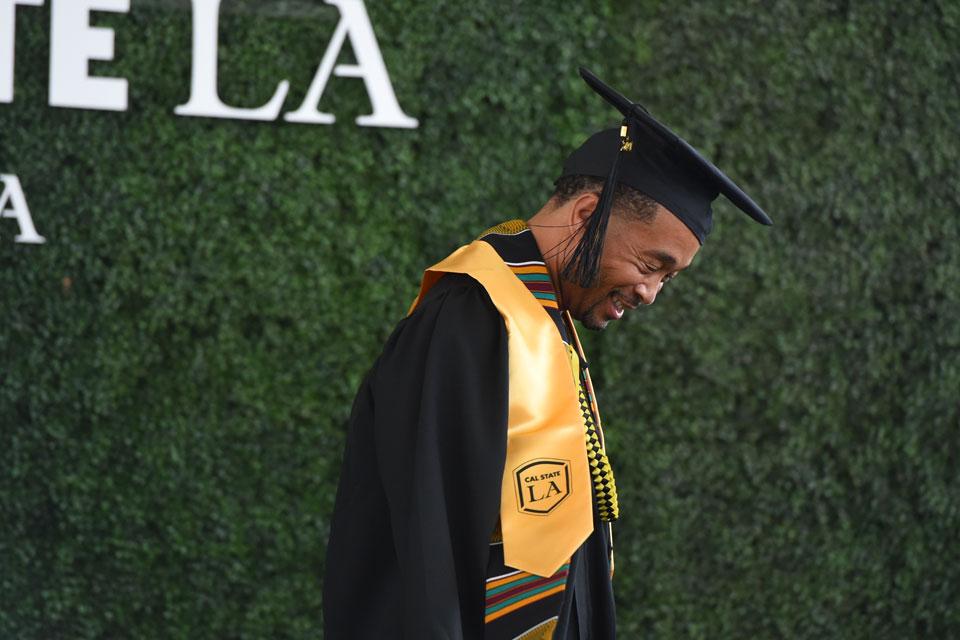 Cal State LA graduate, Tin Nguyen