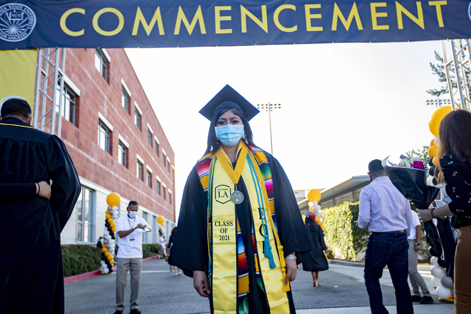 Pride and joy mark Cal State LA Commencement