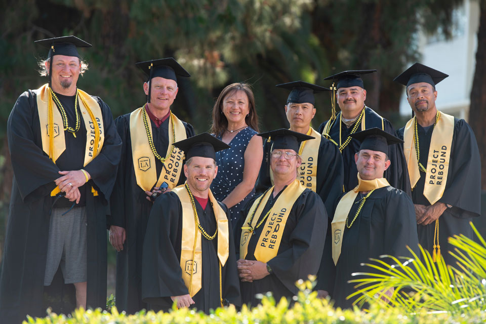 'More than what we were': First graduates of Cal State LA's pioneering prison education program will walk the stage at Commencement