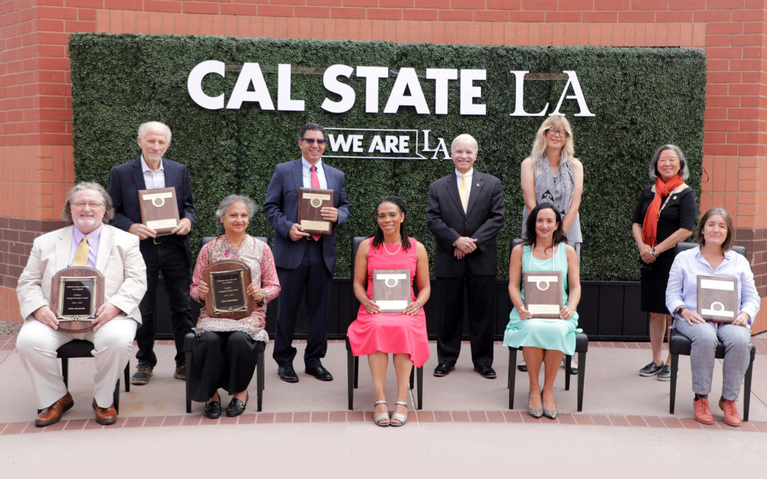Cal State LA honors outstanding faculty at University Convocation 2021