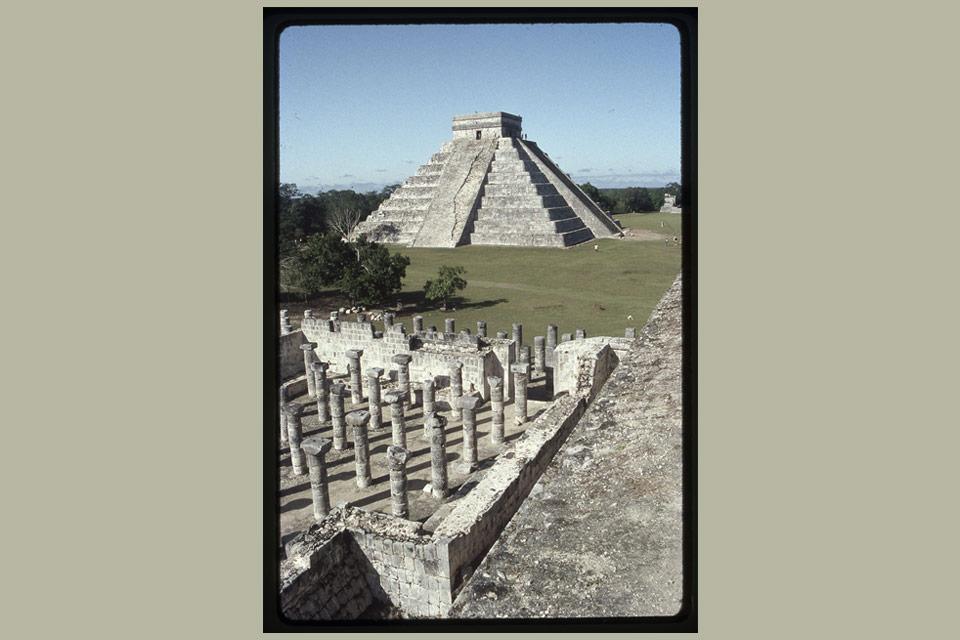 Temple of Kukulcán, Chichen Itza, Yucatán, Mexico